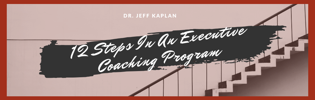 12 Steps In An Executive Coaching Program