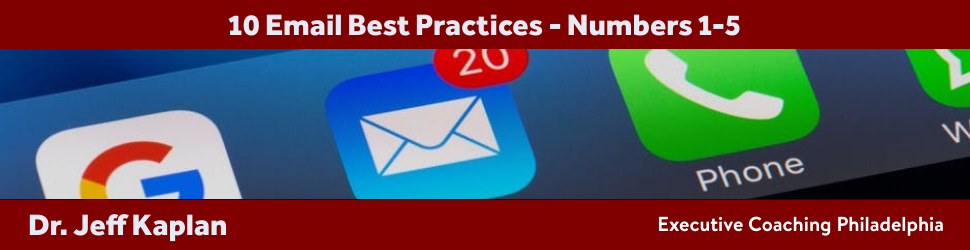 10 Email Best Practices – Numbers 1-5